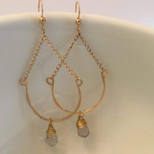 Preppy swing earrings
