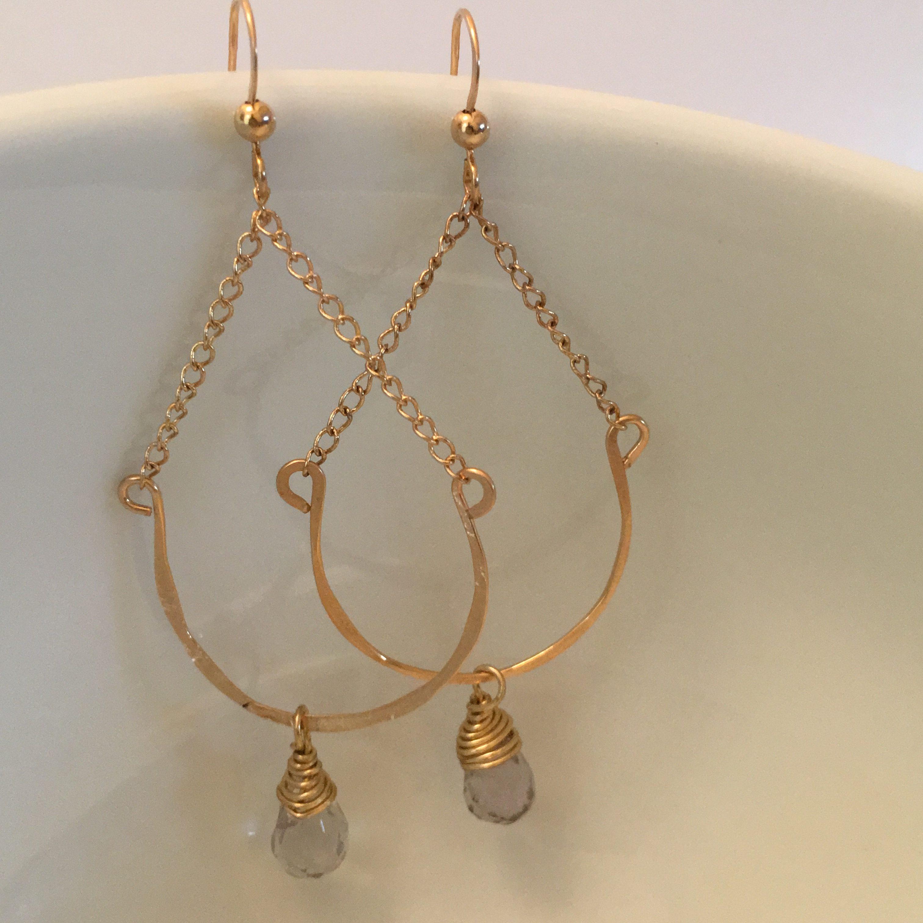 Preppy swing earrings