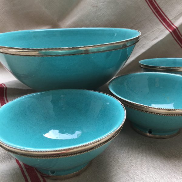 Moroccan bowls - turquoise