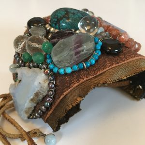 Boho Gypsy Leather Cuff