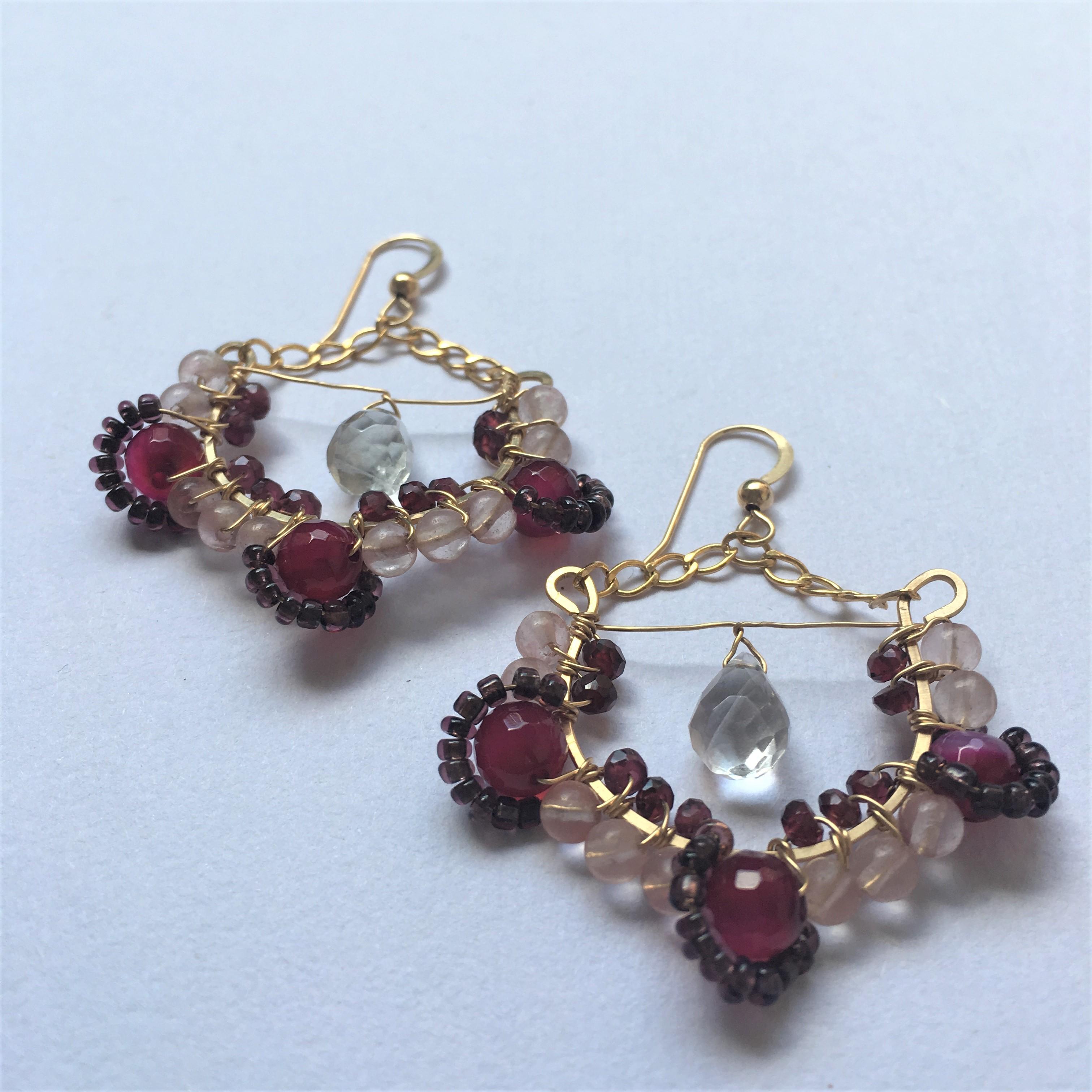 Gypsy swing earrings