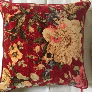 Velvet Throw Cushions