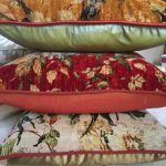 Velvet Throw Cushions
