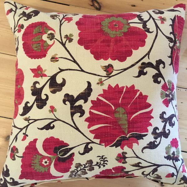 Suzani Pattern Throw cushion
