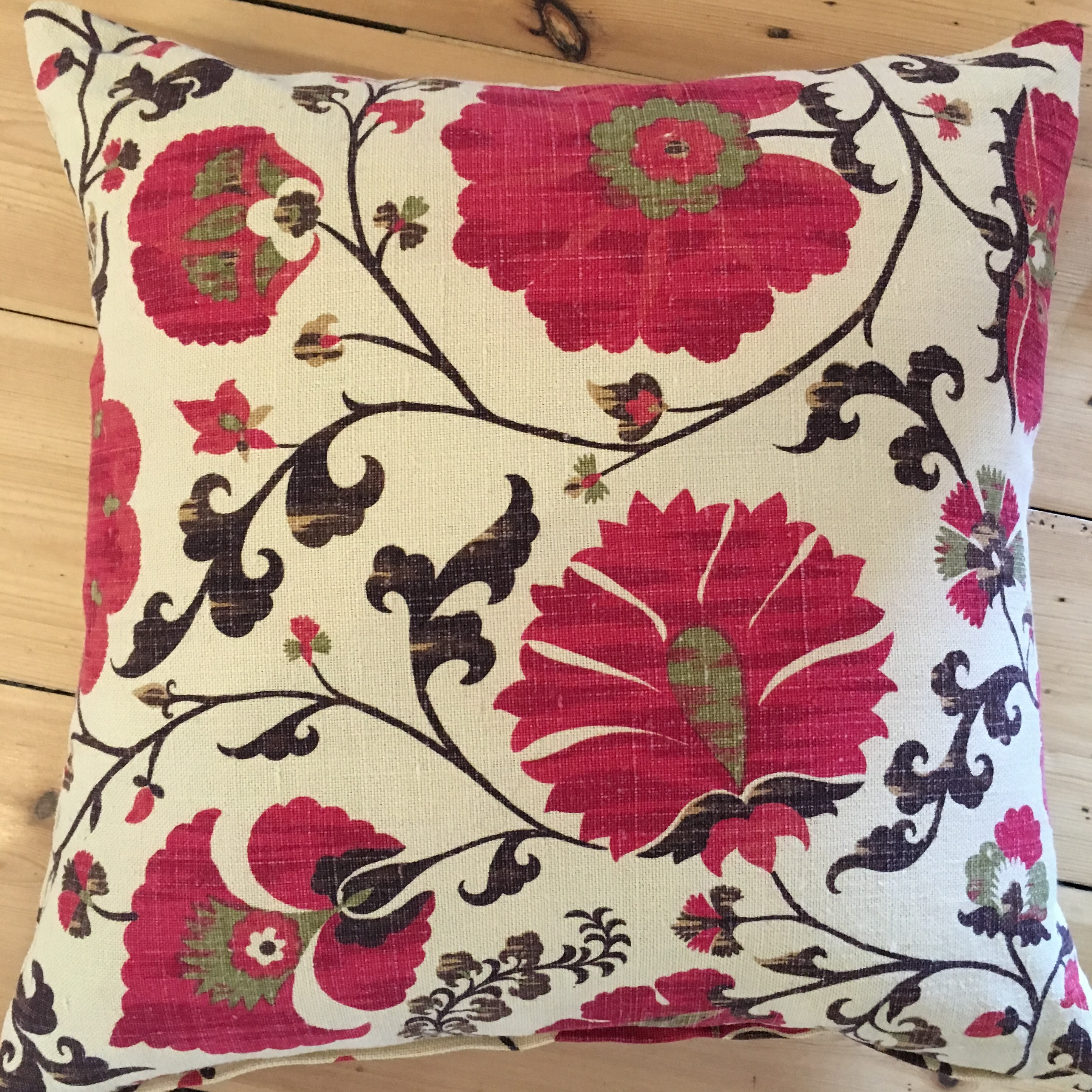 Suzani Pattern Throw cushion