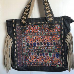 Boho Vintage Fabric Bag