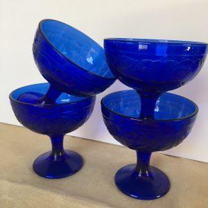 Cobalt Goblets
