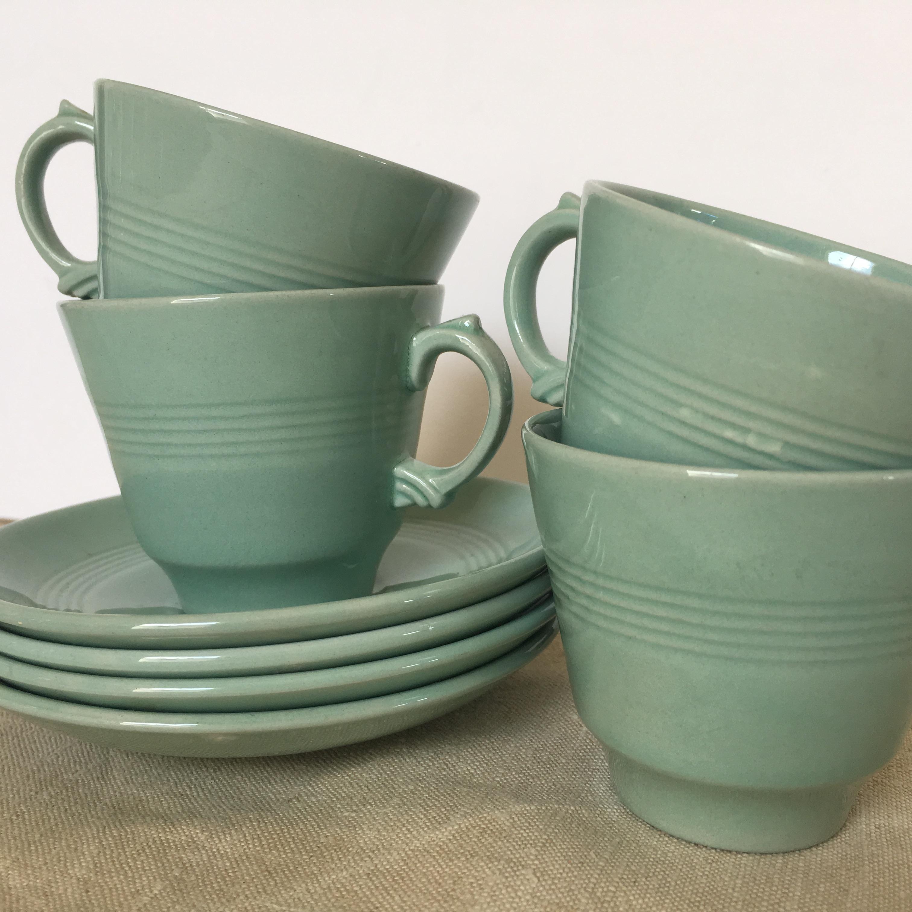 Vintage Coffee cup set