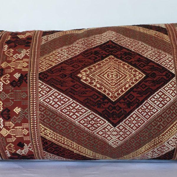 Vintage Thai Silk Bolster