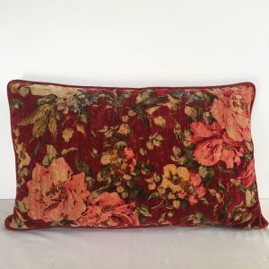 Velvet and Silk Bolster