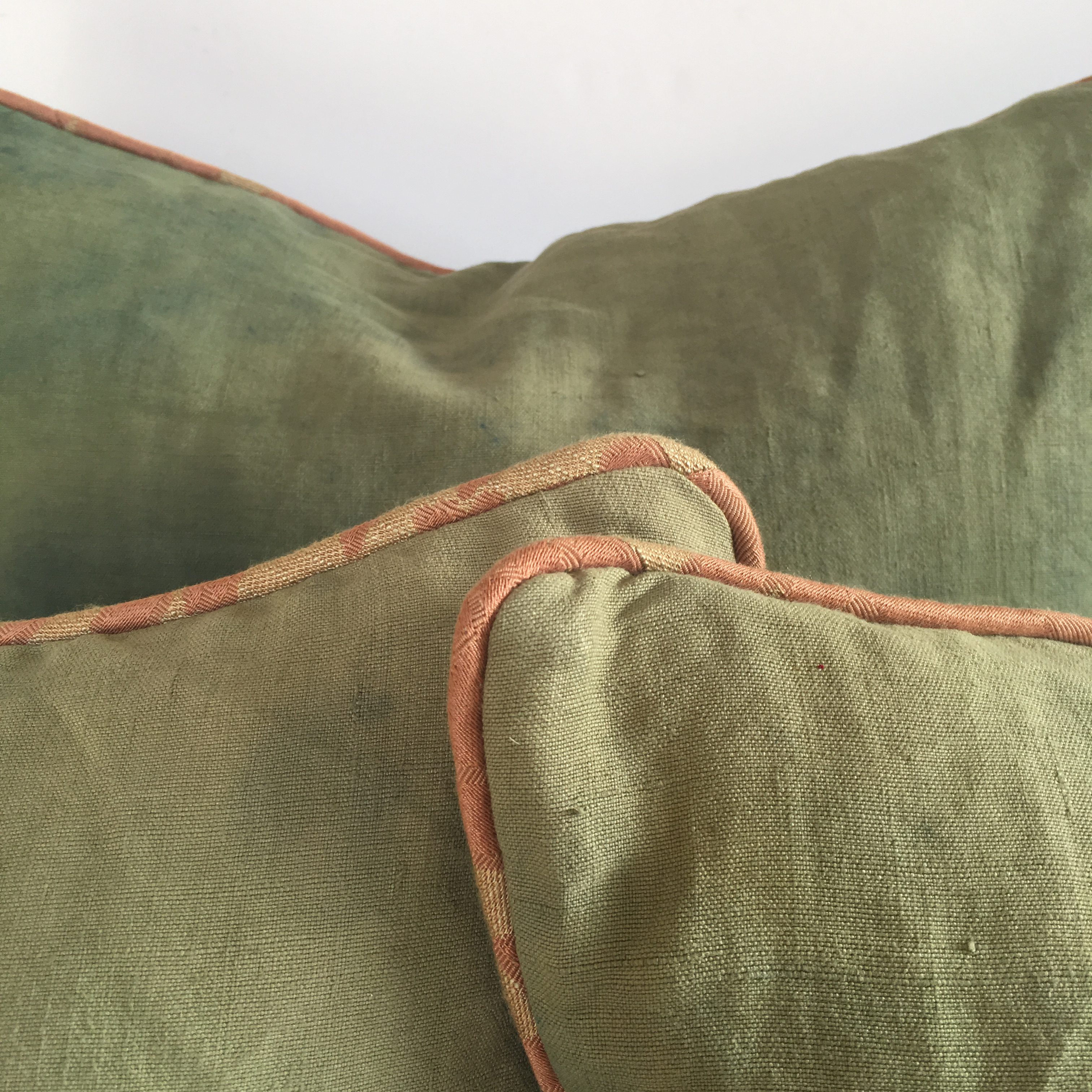 Vintage Linen Throw Cushions
